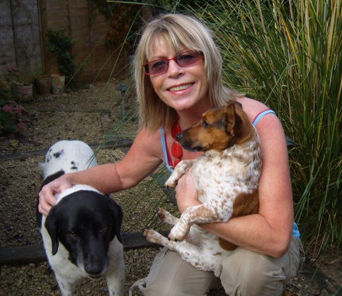 Sheryl and dogs 3 a