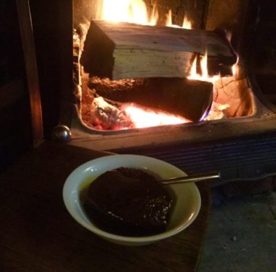 pudding by fire