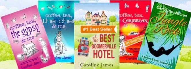 Novels by Caroline James