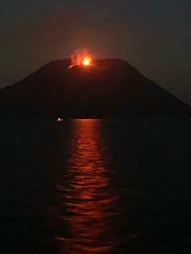 STROMBOLI AT NIGHT